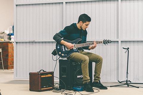 musicien amateur